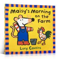 英文原版绘本Maisy's Morning on the Farm小鼠波波 廖彩杏童书