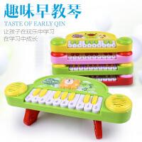 力辉玩具  婴幼儿益智电子琴 儿童早教音乐琴 卡通乐器电动小钢琴玩具