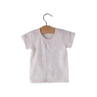 男女宝宝婴儿上衣童装 新款夏装甜梦宝贝对襟短袖衫T恤