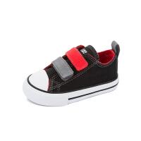 儿童帆布鞋春季新款休闲小童鞋男童女童宝宝板鞋