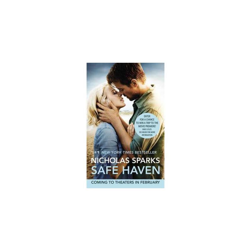 【现货】Safe Heaven 英文原版 爱情避风港 尼古拉斯斯帕克 作品  小开本简装版 漂流瓶寻真爱 国营进口,质量保证!