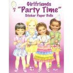 【预订】Girlfriends Party Time Sticker Paper Dolls
