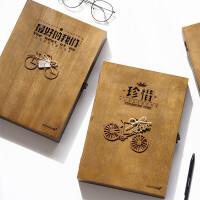 木盒装同学录小学生毕业男女韩国创意唯美小清新初中生复古纪念册同学录
