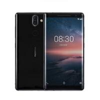 支持礼品卡 Nokia/诺基亚 8 Sirocco 双曲面全面屏 智能4G全网通手机