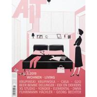 德国 AIT 杂志 2019年3月 英文与德文对照 德国室内设计杂志 别墅公寓住宅室内空间设计