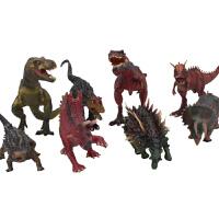 迅猛龙暴龙3-6岁男孩玩具儿童仿真恐龙塑胶动物霸王龙模型