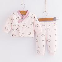 人之初新生婴儿衣服秋冬套装童冬装棉衣初生宝宝纯棉加厚保暖棉服