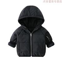女童婴儿棉衣服秋冬装宝宝冬季小童外套装羽绒中长款新年红色