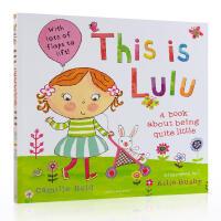 英文原版 绘本 This is Lulu 故事图画 翻翻书 露露 Lulus系列 低幼英语启蒙认知故事书
