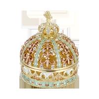 原装内衬】 皇冠水晶首饰盒珠宝戒指盒女生结婚礼物惊喜的礼物节日礼品