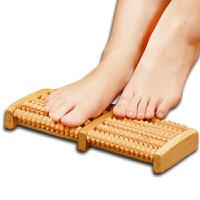 搓脚板 木质足底按摩器送父母中老年人礼物滚轮式足部按摩穴位搓排SN2293 足底按摩板 1