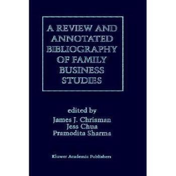 【预订】A Review and Annotated Bibliography of Family 美国库房发货,通常付款后3-5周到货!