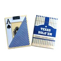 磨砂俱乐部专用棋牌 德州扑克牌塑料牌大字单双面