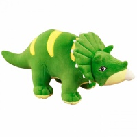 毛绒公仔娃娃送女生 三角龙恐龙毛绒玩具玩偶男孩抱枕公仔布娃娃可爱女生情人节礼物