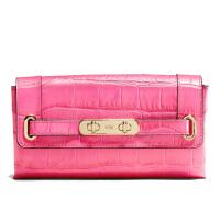 【当当自营】  蔻驰(COACH)新款时尚女士皮革压花钱包手拿包 F53963