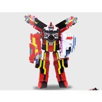 巨神3战击队超救分队玩具机器人变形金刚玩具冲锋爆裂旋天战击王