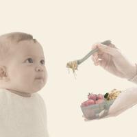 吃饭辅食碗分格碗 儿童餐具套装 婴儿碗勺套装宝宝