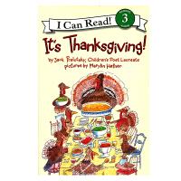 It's Thanksgiving!感恩节快乐! [4-8岁]