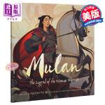 【中商原版】英文原版 木兰从军记 Mulan 传统故事 精装绘本 4~8岁
