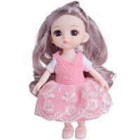 潘箬芭比洋娃娃玩具套装小女孩儿童公主换装仿真精致生日礼物单个