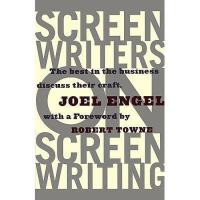 【预订】Screenwriters on Screen-Writing: The Best in the