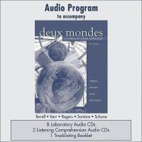 【预订】Audio CD Program to Accompany Deux Mondes: A