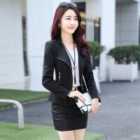 短款外套2018春装新款韩版修身显瘦30百搭35小款40岁女士春秋短装