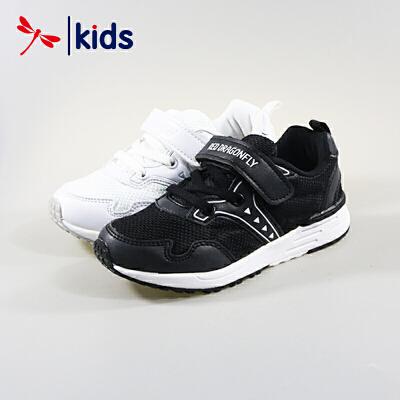 红蜻蜓童鞋男童中大童基础款舒适透气百搭运动鞋