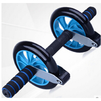家用健身器材 腹肌健身轮 收腹滚轮 天天向上 PU刹车健腹轮