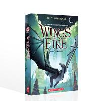 【全店300减100】英文原版进口故事书 火翼飞龙6:月亮升起 Wings of Fire: Moon Rising 儿