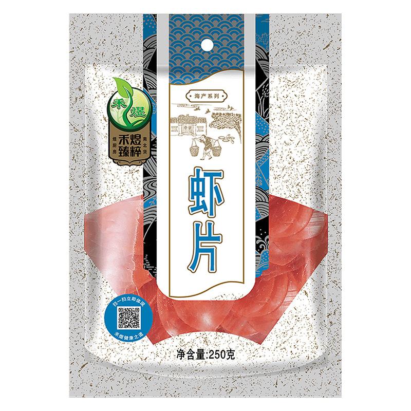 禾煜 虾片 250g*3袋 膨化食品海产干货零食 全店满84包邮,店铺商品促销价*一折起