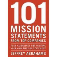 【预订】101 Mission Statements from Top Companies: Plus
