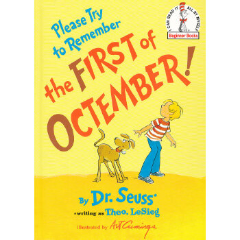 Please Try to Remember the First of Octember! (Beginner Books) [Hardcover] by Dr. Seuss 苏斯博士:等到十三月(精装) ISBN9780394835631