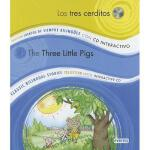 【预订】Los Tres Cerditos/The Three Little Pigs [With CD