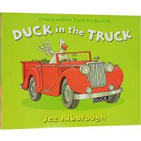 【78�x3】英文原版�L本 Duck in the truck �_卡�的��先生 格林�{威大�� Jez Alborough