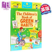 【中商原版】The Children's Book Book of Green Habits 绿色习惯的儿童书 亲子儿童