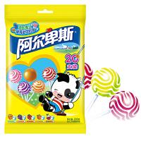 【阿尔卑斯棒棒糖40支装】牛奶混合水果味结婚庆喜糖