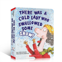 英文原版 There Was a Cold Lady Who Swallowed Some Snow! 吞雪的老奶奶