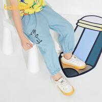 【2件6折价:95.9】巴拉巴拉儿童裤子男童夏装2021新款童装宝宝长裤牛仔裤轻薄洋气潮