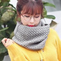 新品新款韩版毛线围巾套头围脖女冬天脖套韩国秋冬季加厚学生围巾围脖