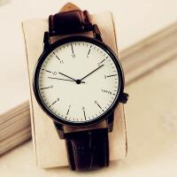 手表女学生时尚潮流复古简约男表女表带情侣手表一对