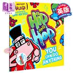 【中商原版】你可以做任何事 英文原版 Hip and Hop You Can do Anything 嘻哈韵文故事绘本