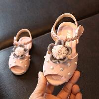 夏季新款儿童凉鞋可爱时尚女童公主鞋宝宝童鞋沙滩鞋童鞋