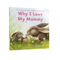 【全店300减110】88选5 英文原版绘本 Why I Love My Mummy 我为什么爱妈妈 正版进口英文温馨故