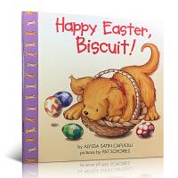 英文原版 Happy Easter, Biscuit! 复活节快乐 小饼干 0-3岁幼儿启蒙认知绘本 平装翻翻书
