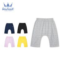 【3件3折:41.7元】souhait水孩儿童装针织七分裤儿童短裤男女同款SHNXNX13CE695