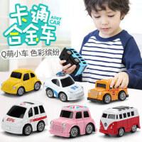 儿童玩具小汽车合金回力车模型套装男孩4小孩宝宝小车1-2-3周岁半