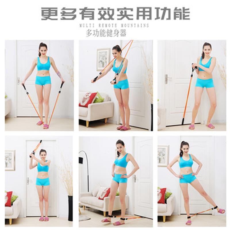 仰卧起坐健身器材床上简易收腹器压腿器家用仰卧板女瑜伽