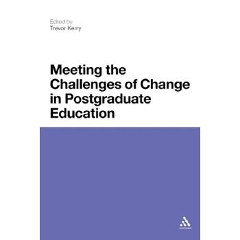 【预订】Meeting the Challenges of Change in Postgraduate Education 预订商品,需要1-3个月发货,非质量问题不接受退换货。