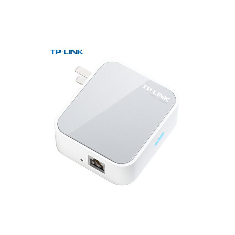 TP-Link TL-WR700N 迷你无线路由器家用随身wifi上网中继器AP有线转无线出差旅游便携式内置开关